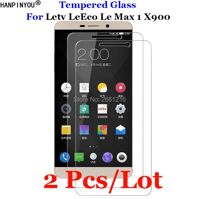 2 шт./лот для Letv Le Max 1 закаленное стекло 9H 2.5D Премиум Защитная пленка для Letv LeEco Le Max 1 One Max1 X900 6,33
