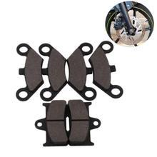 4 шт. ATV передняя + 2 шт. задняя полуметаллическая неасбестовая тормозная колодка для CF Moto CF500 500CC CF ATV UTV Shineary мотоциклетная колодка