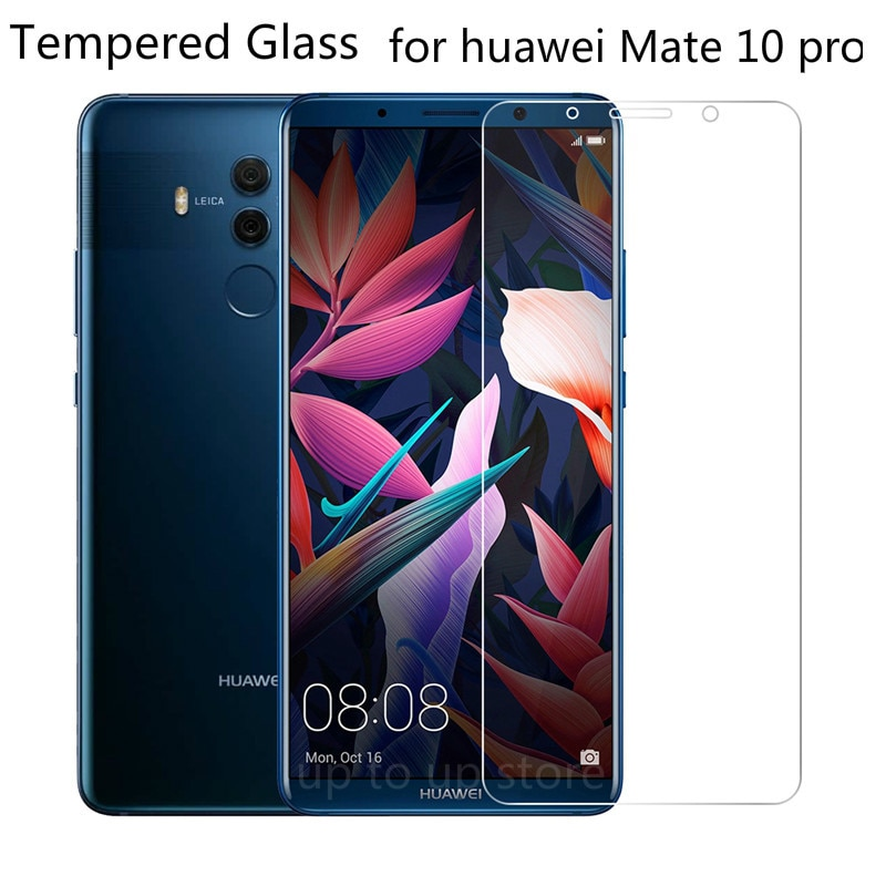 9H vidrio templado para Huawei Mate 10 Pro Protector de pantalla para huawei Mate10 pro película protectora Premium para Huawei Mate 10 pro