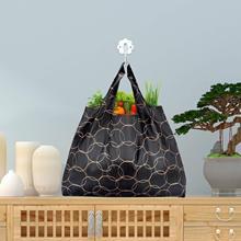 Sac à provisions pratique pliable unisexe sac fourre-tout réutilisable recycler sacs à main de stockage étanche sac de voyage échantillon