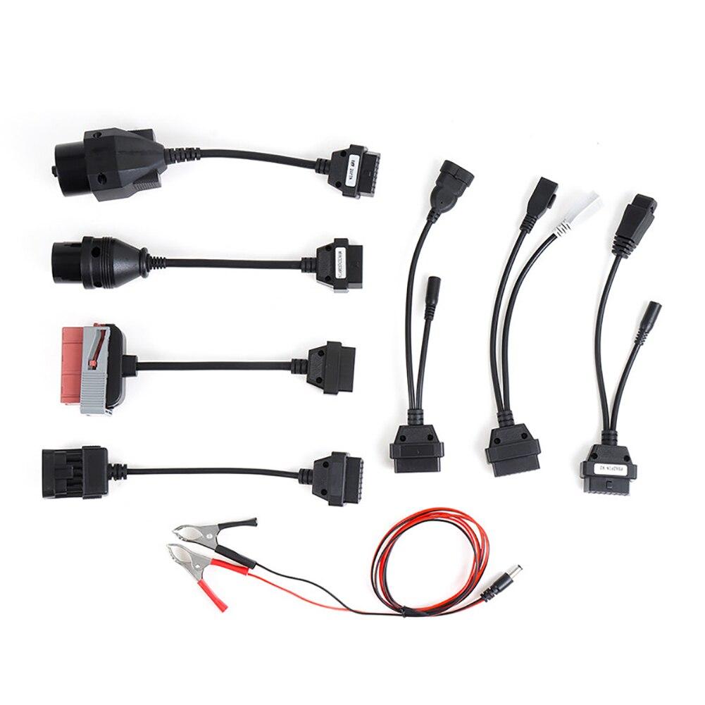 8 шт. автомобильный диагностический инструмент, набор кабелей OBD2, Автомобильные диагностические кабели, автомобильные кабели, диагностичес...
