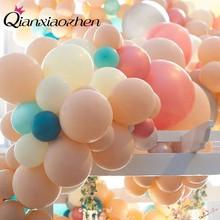 Qianxiaozhen 20pcs 캔디 컬러 풍선 anniversaire 웨딩 데코 풍선 액세서리 생일 파티 장식 어린이 gonflable