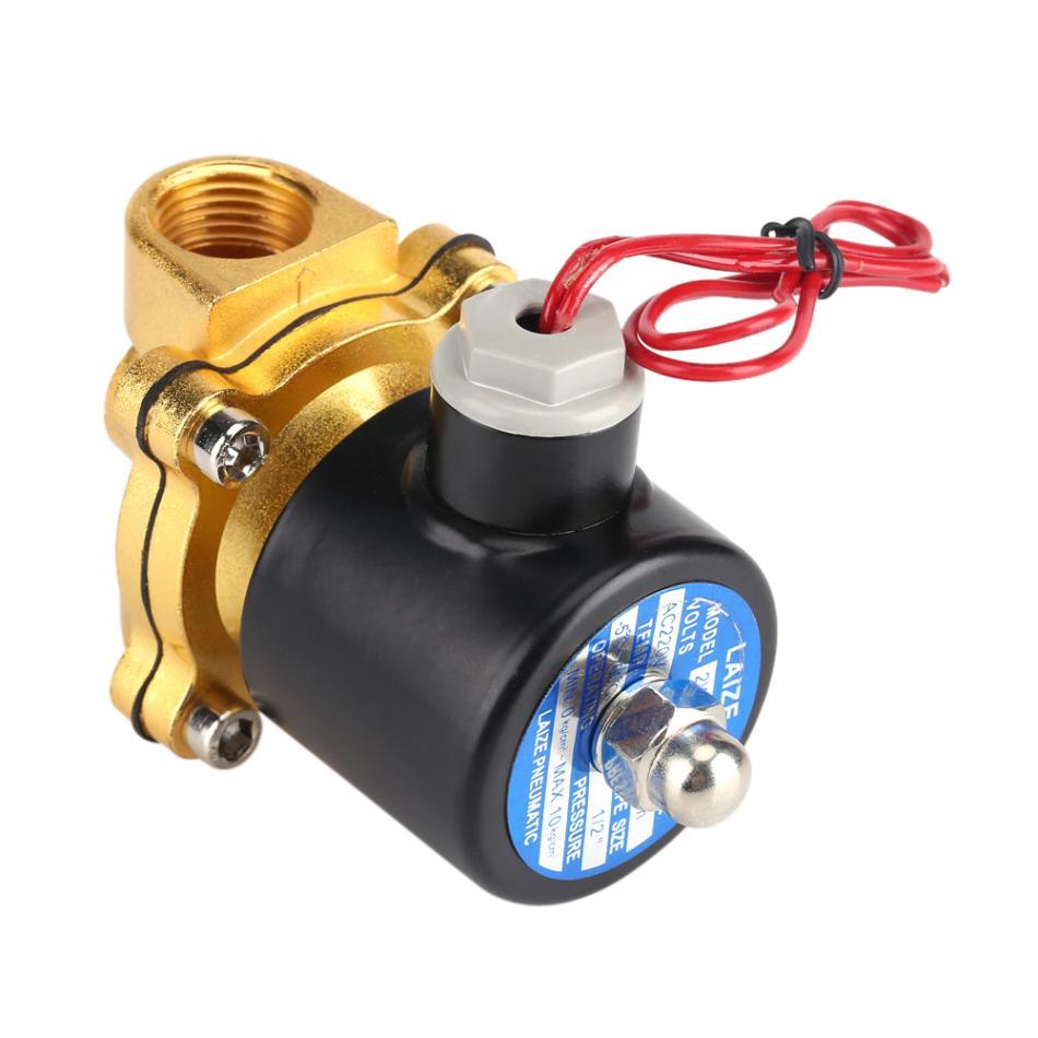 220 V DN15 1/2 Elétrica Válvula Válvula Eletromagnética para o Óleo da Água do Ar Gás Normal Fechado Acessórios de Alta Qualidade