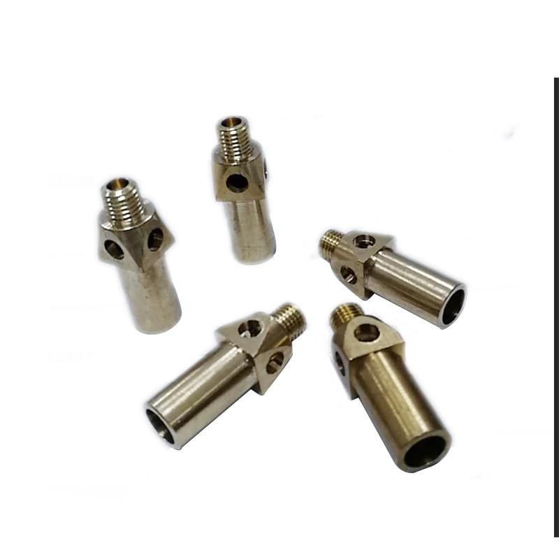 5 PCS Brass Cast Iron Jet Burner Natural Gas Nozzle Cooking Stove Nozzles