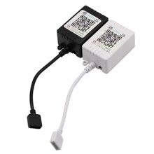 LED de Bluetooth de Controlador de luz sonido de música Acticated RGB LED controlador 5V 12V 24V controlador RGB 4 Pin LED Control derecho