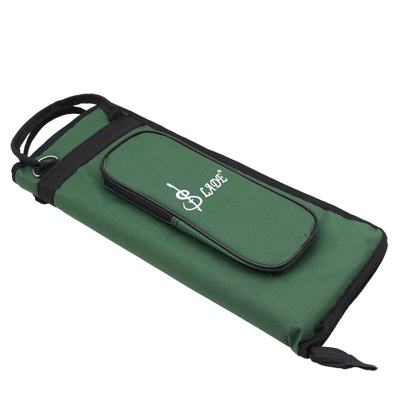 Étui de sac de pilon support de bâton de tambour sac de maillet de tambour de Percussion avec poche externe et crochets de Tom de plancher