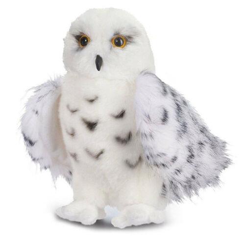 Mago SNOWY búho de felpa de juguete Peluche de Animal de peluche de Lechuza para la decoración del hogar Decoración artesanías figuras miniaturas niños regalo de bebé
