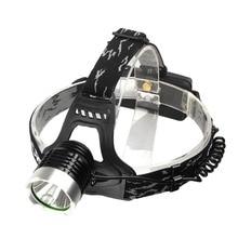 Cree LED Headlight XML-U2 T6 LED 1200LM Searchlight 3 Modes CREE Hike Cycling Headlamp Light + EU/US/UK Plug Charger