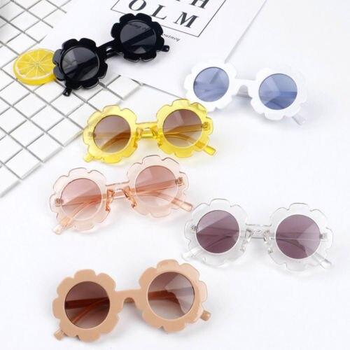 Стильные Детские солнцезащитные очки в стиле ретро для мальчиков и девочек, круглые очки UV400, модные детские солнцезащитные очки
