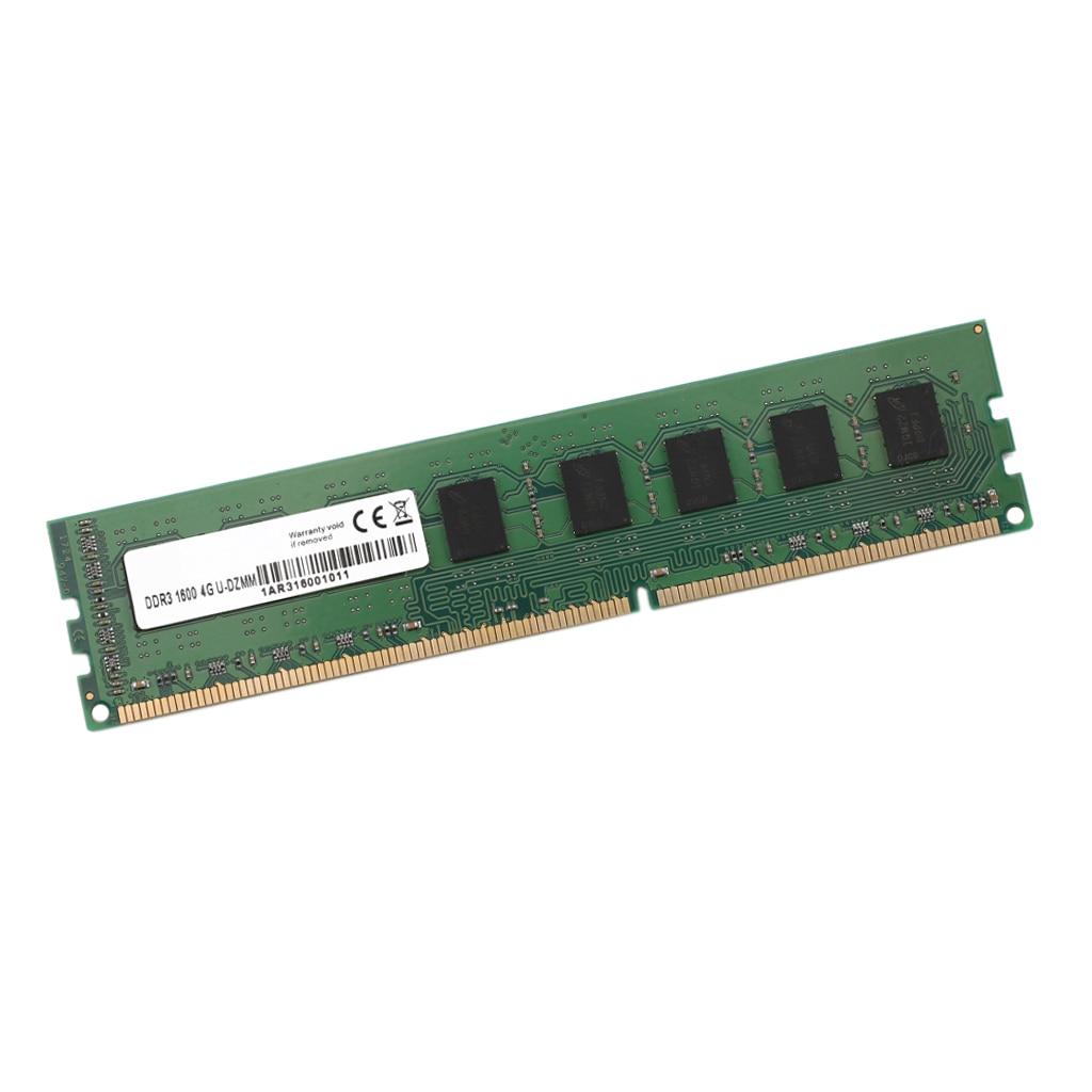 DDR3 Ram Desktop Computer RAM Memory 4GB-1600MHZ Hi-Speed Storage Card