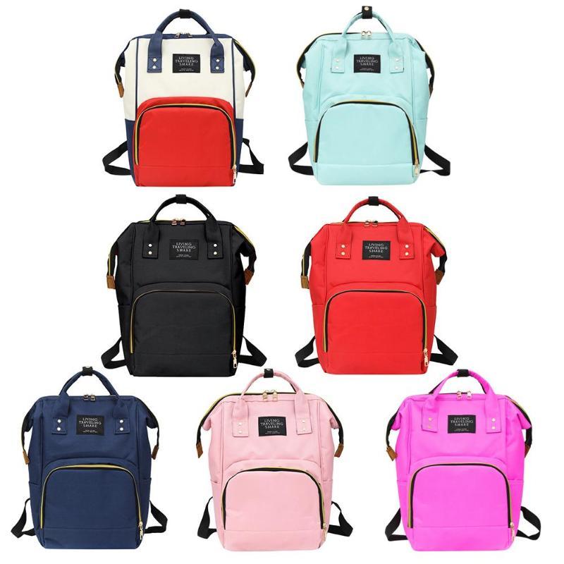2019 Women Nursing Bag Travel Backpacks for Baby Care New RucksackFashion Big Capacity Mummy Maternity Baby things Backpacks