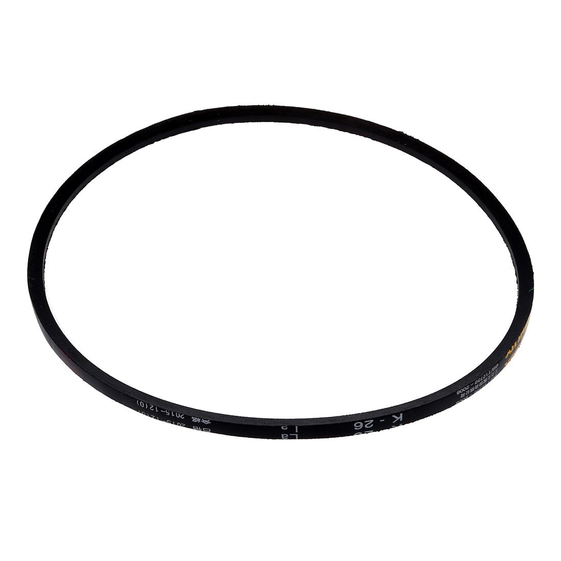"Gran oferta de la industria de césped de caucho negro de tipo K Vee V cinturón 5/16 ""x 26"" de K-26"