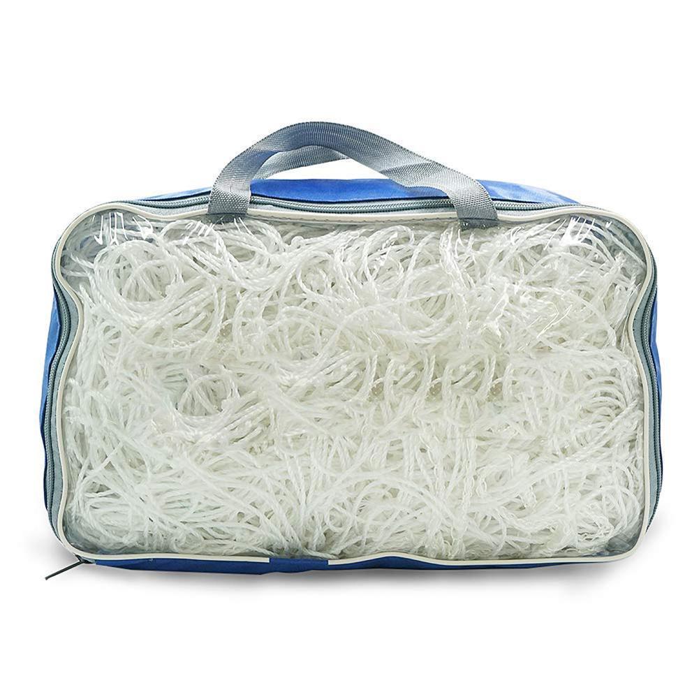 Fußball Net Standard 11 Outdoor Training Spiel Rebound Schutz Netze Polyethylen Volle Größe Fußball Torpfosten Net Für Fußball