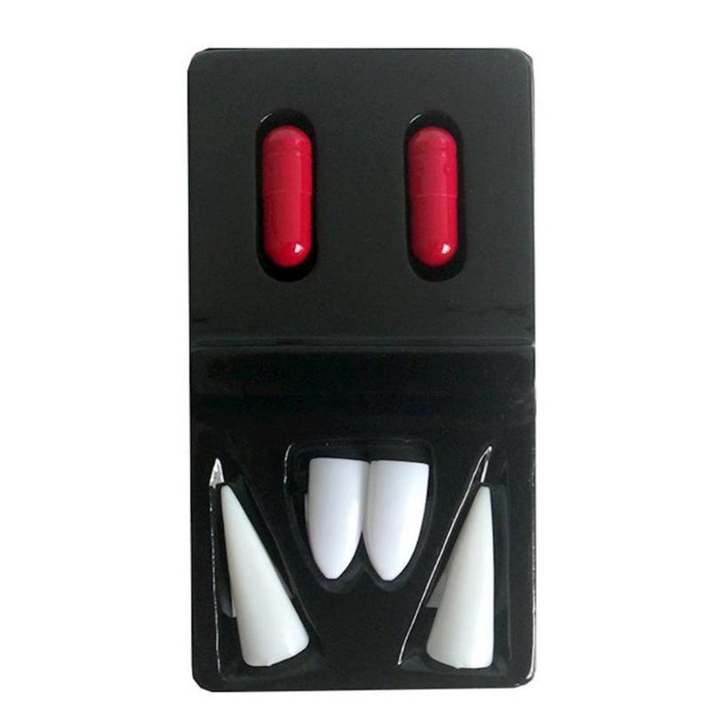 Вампир поддельные зубы дьявол зомби игрушки-Челюсти ужас для Хэллоуина реквизит праздник Праздничная вечеринка Декор Поддельные зубы принадлежности смешные
