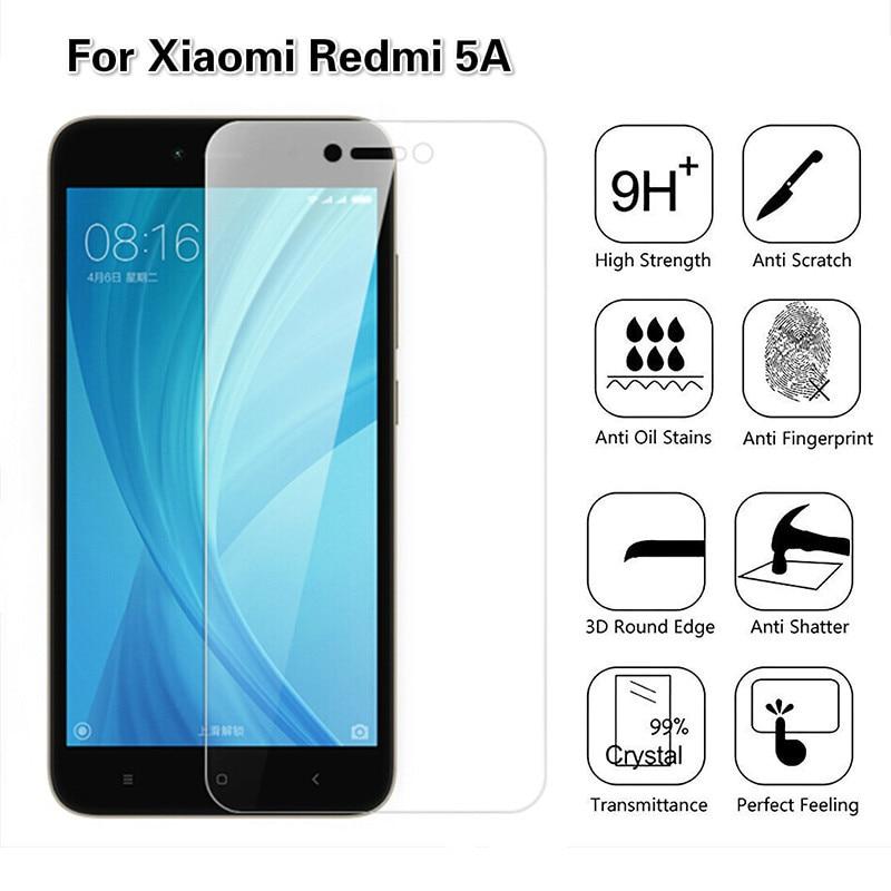 2.5D Tempered Glass For Xiaomi Redmi 5A Screen Protector Film For Xiomi Redmi Note 5A Glass Protecti