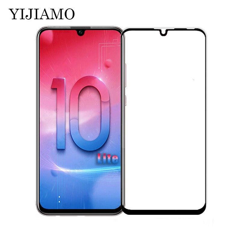 3D la cubierta de vidrio templado para Huawei Honor 10 Lite Protector de pantalla para Huawei Honor10 P20 Lite de vidrio película 9 H