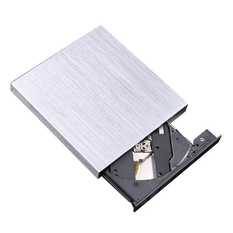 Beesclover usb 3.0 portátil ultra fino externo unidade óptica cd bandeja leitor ímpar