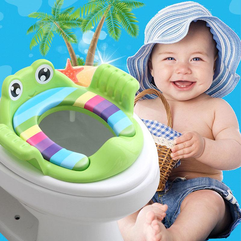 Asiento de plástico para bebé y niño de rana 11,11, seguro, portátil, orinal, silla de entrenamiento, rejillas para niños, zapatillas para recién nacidos