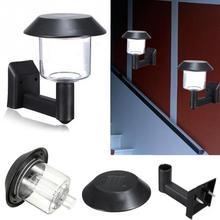Automatic Sensor Light 2V/60mA Solar Panel Environmental Home Led light Easy to Intall Use Plastic Solar Wall Wooden Lamp #1025