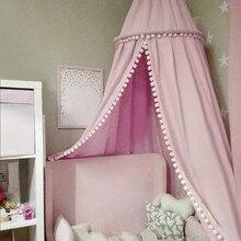 Coton bébé auvent moustiquaire Anti moustique princesse lit baldaquin enfants chambre décoration lit baldaquin antiparasitaire rejeter Net