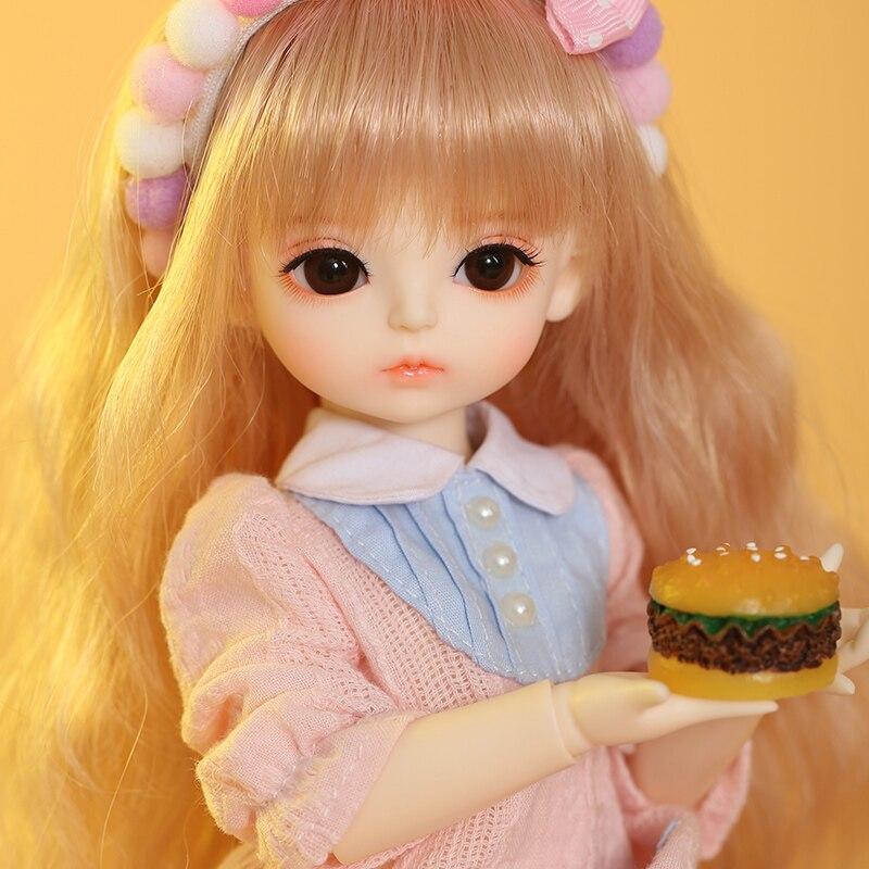 OUENEIFS BJD SD Doll IVY 1/6 YoSD Body Model Baby Girls Boys Doll Toys for Children Friends Surprise Gift for Boys Girls