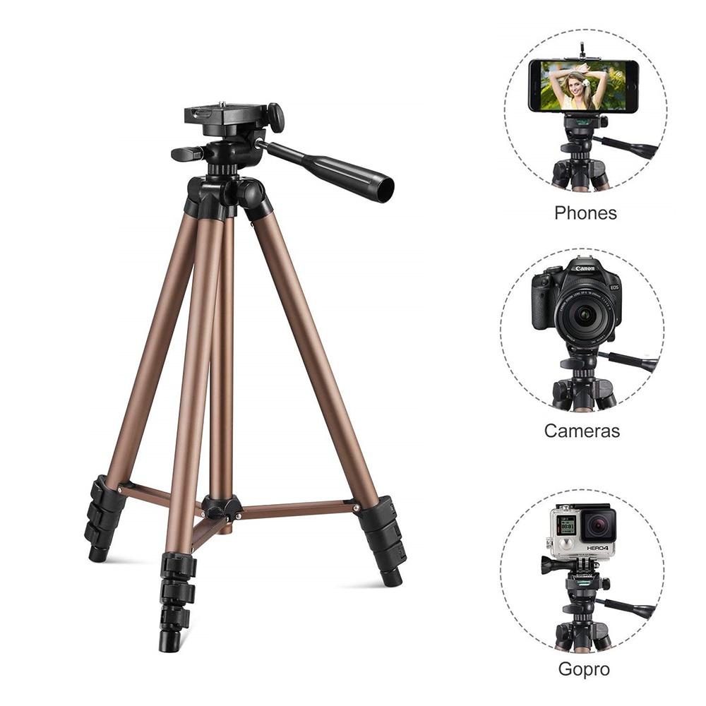 Штатив для камеры Универсальный портативный легкий штатив для мобильного телефона профессиональный штатив для Canon sony Nikon камеры смартфона