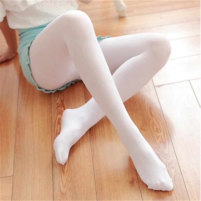 Medias de moda de mujer gruesas 200D pantimedias opacas con pie Natural