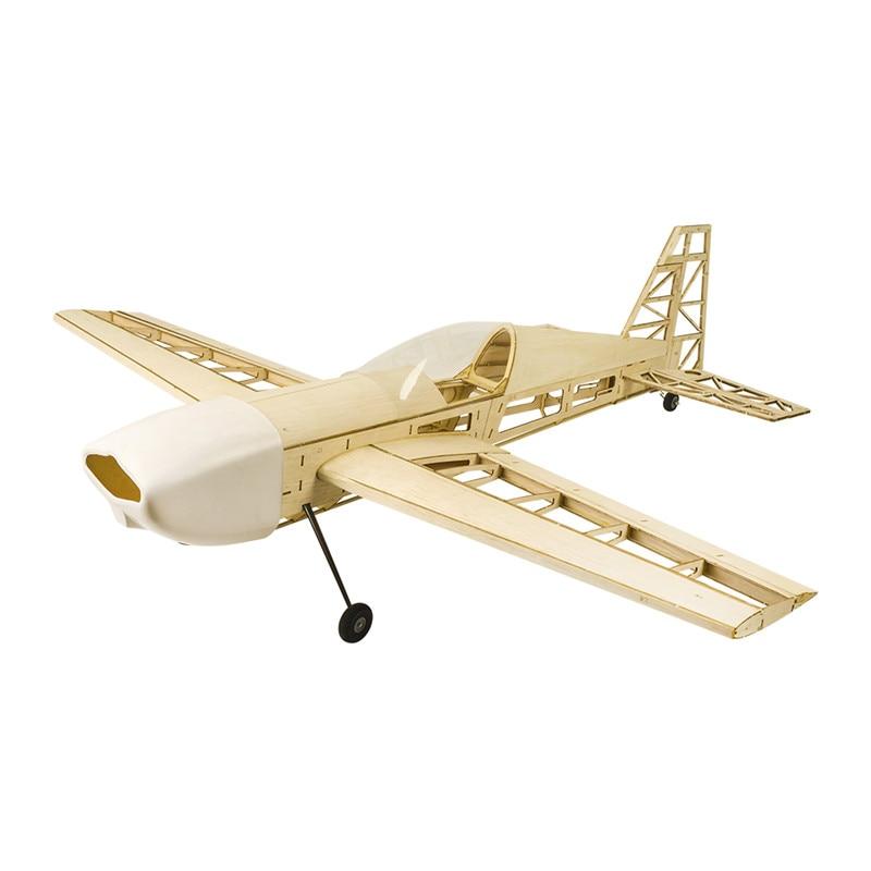 Extra 330 atualizado 1000mm wingspan balsa madeira construção rc avião kit