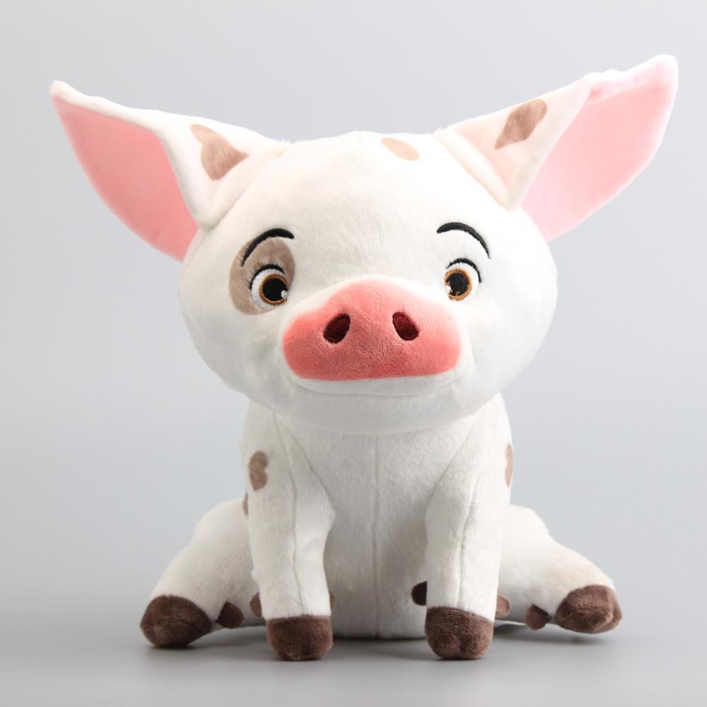 ¡Oferta! juguetes de peluche grandes de Moana Pua Pig, muñecos de peluche de animales bonitos de dibujos animados, regalo para niñas, niños y bebés
