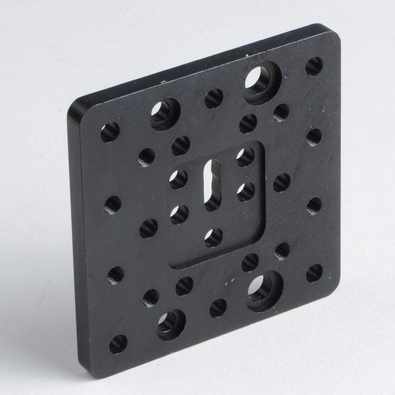 CNC openbuilds parts aluminum plate metal mounting 3D printer Openbuilds C-shaped steel end