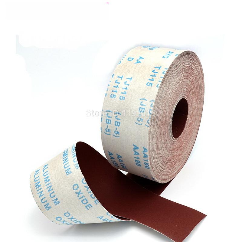 1 metro 80-600 carta abrasiva per lucidatura in rotolo di tela - Utensili abrasivi - Fotografia 4