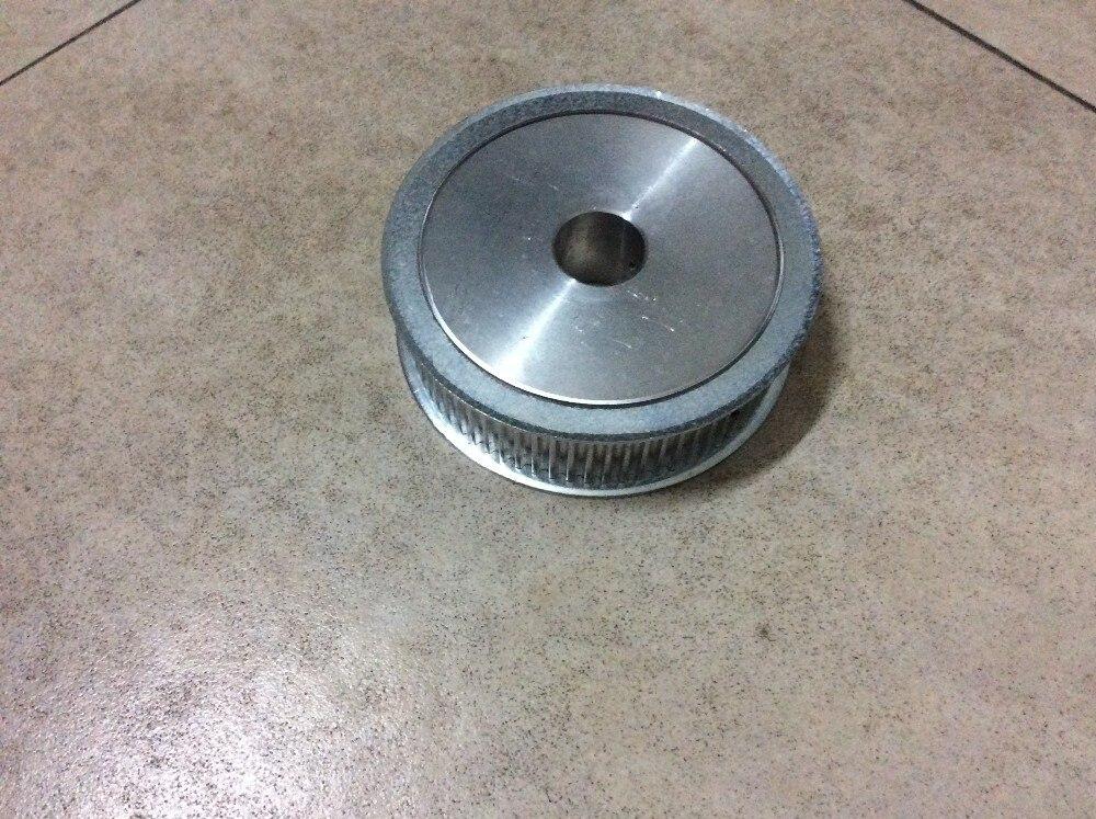 بكرات HTD8M ذات 54 سنًا من سبائك الألومنيوم, تصميم مخصص (22 مللي متر/104 مللي متر/82 مللي متر)
