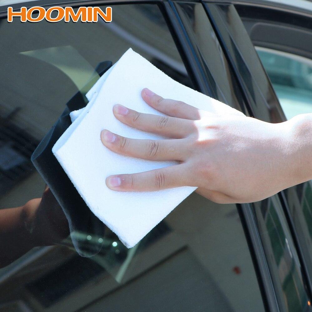 Paño de limpieza HOOMIN gamuza Artificial gamuza para secado de pintura de vidrio de coche Toalla de secado de microfibra súper absorbente