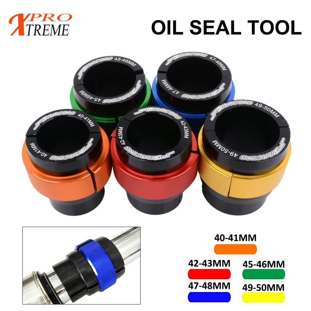 42MM 43MM 41MM-50MM Oil Seal Tool Bushing Driver Install For KTM 105SX 105XC 85SX EXC MXC SPG GS SX EGS LC4 Duke Ralley Racing