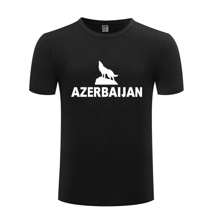 Мужская футболка с коротким рукавом azerbaki, хлопковая Повседневная футболка с круглым вырезом, 2018