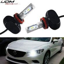 IJDM Auto Koplamp 9005 LED HB3 LED High Power Luxeon LED Voor Mazda 6 3 CX-5 High Beam Daytime Running licht 12 V 6000 K Wit