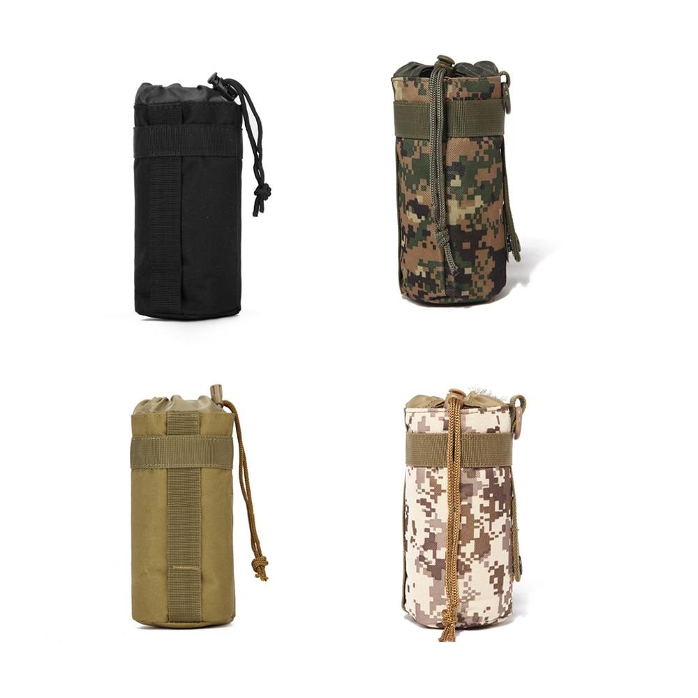 Kit de deportes 4 colores opcional bolsa de Camping viaje senderismo poliéster soporte al aire libre 600D supervivencia bolsa de agua hervidor de agua