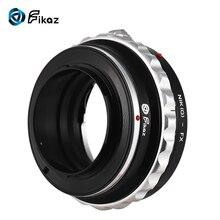 Fikaz Hoge Precisie Lens Mount Adapter Ring Aluminium voor Nikon G/S/D Lens FX- mount Mirrorless Camera NIK (G) -FX