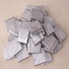 100g 99.99% High Purity Nickel Ingot Sheet Pure Nickel Metal for Electroplating Newest