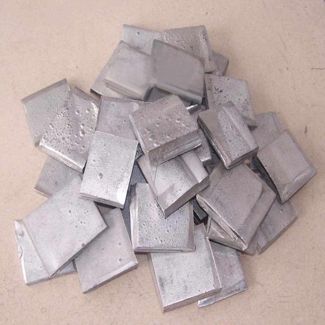 Lámina de lingote de níquel de alta pureza 100g 99.99%, Metal de níquel puro para galvanoplastia lo más nuevo