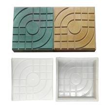 Moldes de plástico para pavimento de ladrillo cuadrado de carretera, molde de plástico para decoración de jardín, camino pavimentar pavimento, ladrillos de cemento, moldes de hormigón