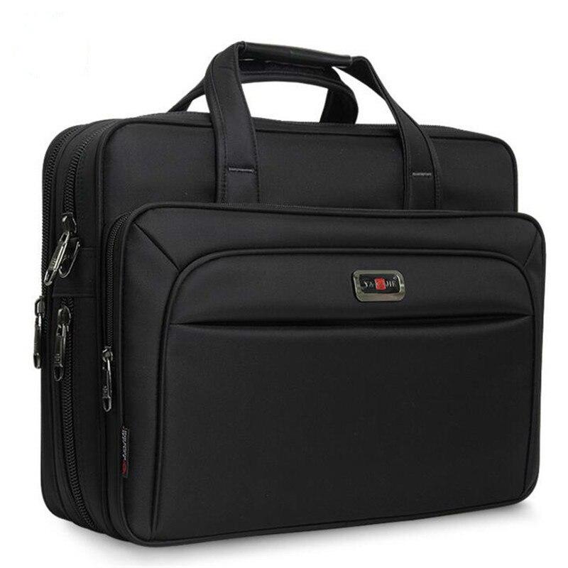 "Bolsas de negócios dos homens maleta grande capacidade bolsa ombro único 14 ""15.6"" 16 ""bolsa para portátil hp dell lenovo apple ipad"