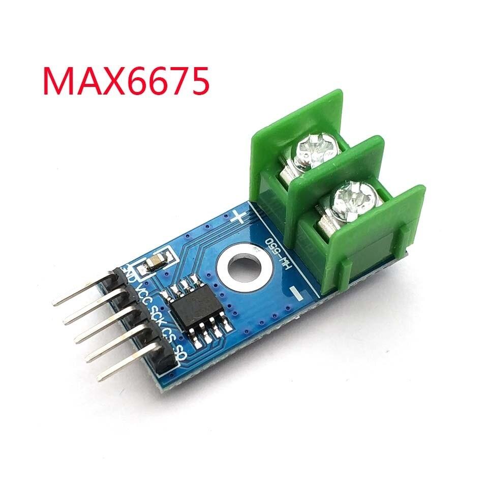 Termopar Tipo MAX6675 0-800 Graus de Temperatura do Sensor de Temperatura Do Módulo