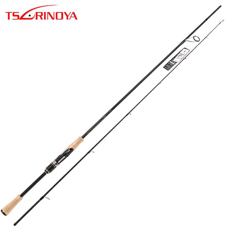 TSURINOYA Spinning Rod PROFLEX II 2.12m/2.03m Fishing Lure Rod Fuji Accessories Power ML/M Bass Rod Carbon Lure Rod