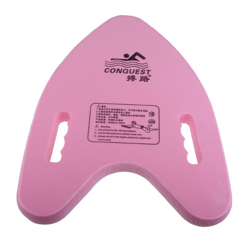 Tabla ligera de EVA con forma de A, tabla de apoyo para aprendizaje, Ayuda de entrenamiento, tabla de natación, herramientas de placa flotante para adultos y niños