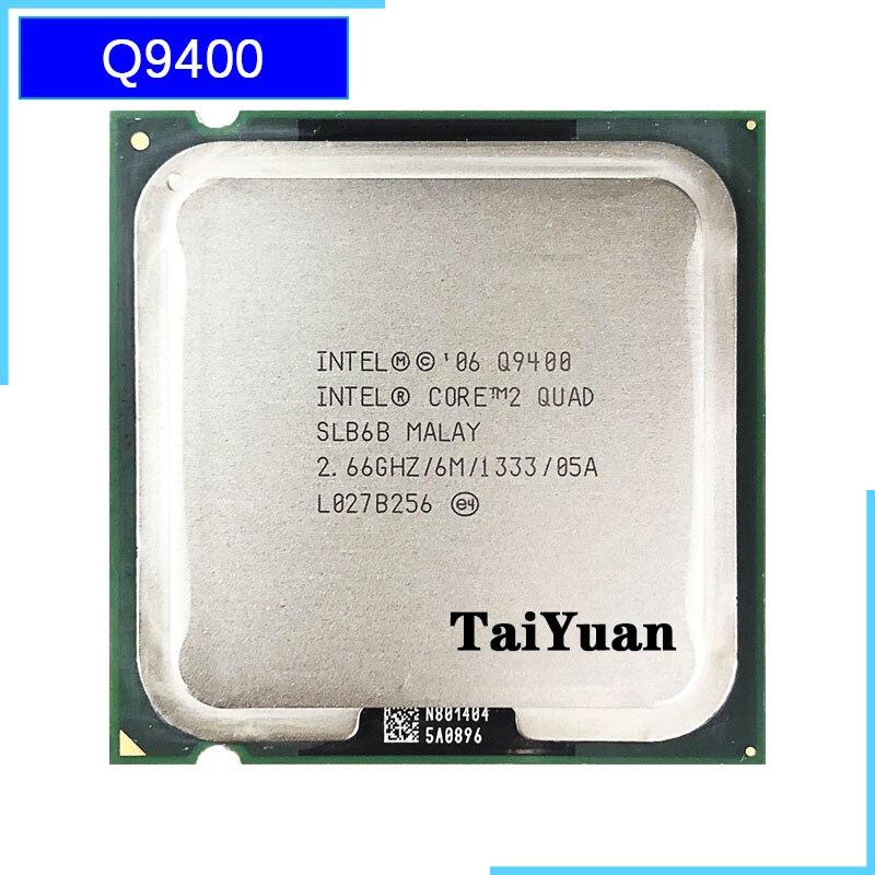 Procesador ntel Core 2 Quad Q9400 2,6 GHz Quad-Core CPU 6M 95W 1333 LGA 775