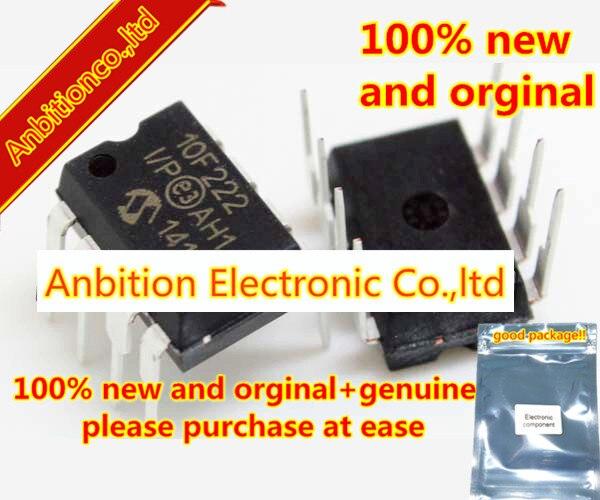10 piezas 100% nuevo y original PIC10F222-I/P DIP8 en stock
