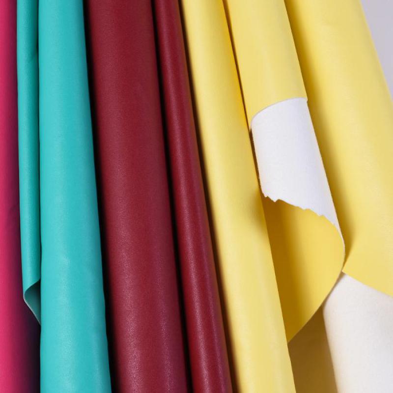 Tela de Polipiel sintética fina para coser, paño para coser ropa de...