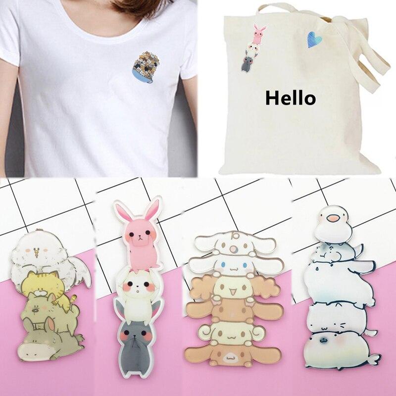 Oferta, 1 unidad, falda acrílica Harajuku bonita, insignias, broches para mujeres, dibujos animados, sudadera de gatos, estudiante, chicas, Pins, joyería