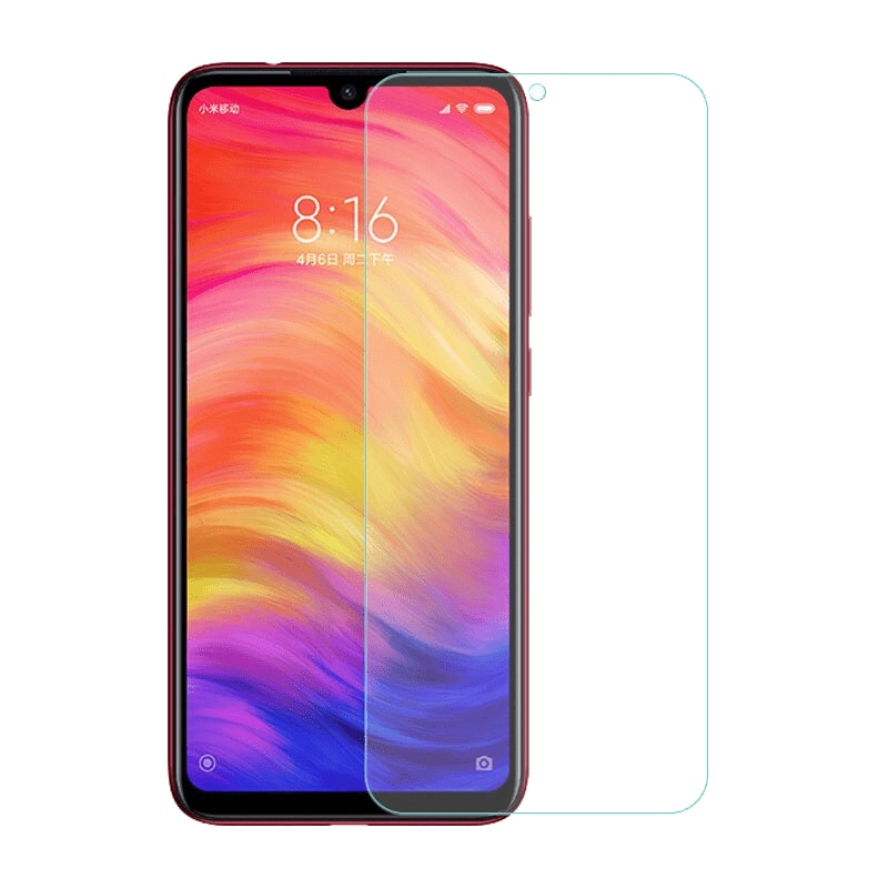 "Para Xiaomi Redmi note 7 arroz rojo nota 7 a prueba de polvo Anti-huella digital de cristal templado de 5,5 ""claro Premium HD película para Redmi Nota 7"